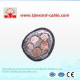 Câble électrique de gaine à haute tension de PVC pour la construction