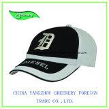Бейсбольная кепка способа черная и синяя вышивки