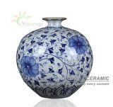 De mooie Chinese Blauwe en Witte Vazen van het Porselein voor de Decoratie van het Huis