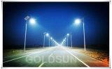 LED intégrée de la rue solaire, d'éclairage des feux de route