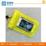 Zacht PVC Twee Button Lock Waterproof Phone Bag