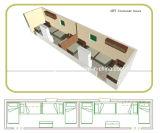Полуфабрикат модульная, передвижная дом/дом контейнера (DG4-045)