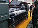 Impresora de inyección de tinta con tinta de la sublimación de la materia textil