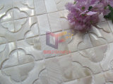 花の形の真珠色のモザイク・タイル(CFP140)