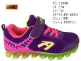 No. 51329 due stili quattro pattini di sport dei pattini del capretto di colori