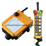 Telecomando industriale senza fili F24-12D di Telecrane con il disegno di resistenza di scossa