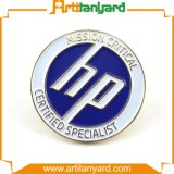 Distintivo del metallo con il marchio di disegno del cliente