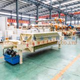 Plc-Membranen-Filterpresse für Printing&Dyeing Abwasser 870 Serie