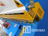 QC12y máquina de cisalhamento do feixe de giro hidráulico (Estun E21 NC Controlador)