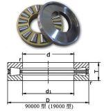 Rodamiento de rodillos de empuje de todo tipo de cojinete de rodillos de la jaula de latón acero/91236 29238 29244
