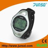 Relógio do monitor da taxa de pulso com almofadas condutoras (JS-702)