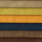 Tissu européen tissé de sofa de Stlye de polyester de Linien