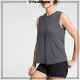 Frauen-Baumwolle gedrucktes kundenspezifisches förderndes Trägershirt