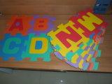 Bequeme Teppich EVA-Matten-Alphabet-Puzzlespiel-Matte