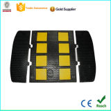 Limitador de velocidad de caucho negro y amarillo con bajo precio de fábrica