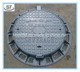 Tampa de câmara de visita Ductile redonda resistente do ferro de molde de En124 C250