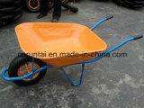 Carriola più poco costosa rivestita della polvere differente di colore (WB6400)
