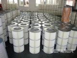Cartucho de filtro de pó industrial Filtro de cartucho de ar comprimido