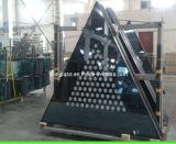 Couleurs imprimées isolé pour la construction de décoration en verre Rideau