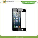Vidrio Tempered del protector de plena pantalla para el iPhone 5 5s 5c