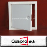 Cristal galvanizado/Doorl del acceso del plano de acero con el cierre cuadrado AP7010 del tornillo