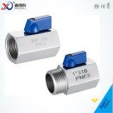 Шариковый клапан 1-PC 50mm Pn40 нержавеющей стали 1.4408 фабрики с чертежом