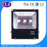 Nuevo reflector del diseño 100W LED, cubierta delgada IP65 impermeable