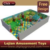 CE thème coloré en plastique du château de terrain de jeux intérieur (ST1405-10)