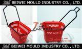 Constructeur direct pour le moulage en plastique de panier à provisions