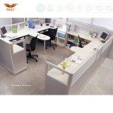 최신 사무실 테이블 디자인 I 모양 칸막이실 워크 스테이션 가구
