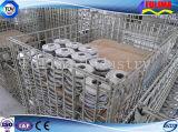 Jaula de almacenamiento / Basket para la recepción de piezas pesadas y componentes (SSW-F-003)