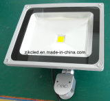 PIR/Movment 감지기를 가진 50W LED 홍수 빛