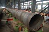 Het opstapelen van de Pijp van de Structuur SSAW voor Gas en Olie en Water