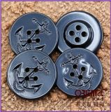 4-Hole Fashion Plastic Button con Anchor