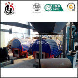 ブラジルのプロジェクトのオリーブ色のカーネルによって作動する木炭機械装置