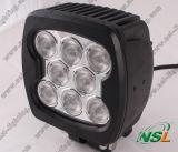 5.5 lumière de travail de pouce 80W DEL, lumière pilotante de DEL, lumière de travail de faisceau lumineux, lumière tous terrains, lumières pilotantes de CREE