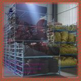Lange Lebensdauer schlauchloser Reifen 90/90-18tl des ISO-Nylonmotorrad-6pr