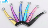 Autoclavable Generator LED Metal Body Colorful Handpiece (RB-TUP)