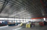Het geprefabriceerde PoortPakhuis Van uitstekende kwaliteit van de Structuur van het Staal van het Frame