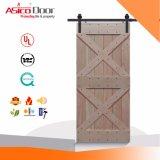 Porte coulissante de type de grange pour la brame avec le matériel apparié