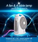 12 Zoll das Mobile des nachladbaren Tischventilators, AC/DC aufladenventilator