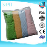 Wash Label Emboided Microfiber Cleaning Towel