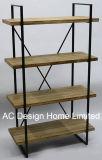 4 Tier Antique étagère en bois décoratifs Vintage