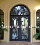 Xiamen 사자 단철 집을%s 유리제 문 삽입