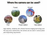 Автомобиль установлен интеллектуальный тепловой обработки изображений ИК PTZ камеры CCTV