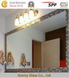 浴室のための明確な防水ガラスミラー