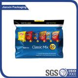 Bolsa de plástico para embalagens de alimentos em folha de alumínio em plástico PE