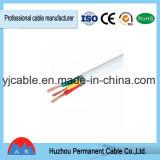 PVC forrado alambre eléctrico de la conducta del cobre del alambre forrado