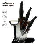 台所用品セット、ピーラーとセットされる陶磁器のナイフ及びFoldableホールダー