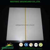 Una buena calidad de papel superpuestas Plywoood ranurado de 2,2 mm para el uso de la Decoración